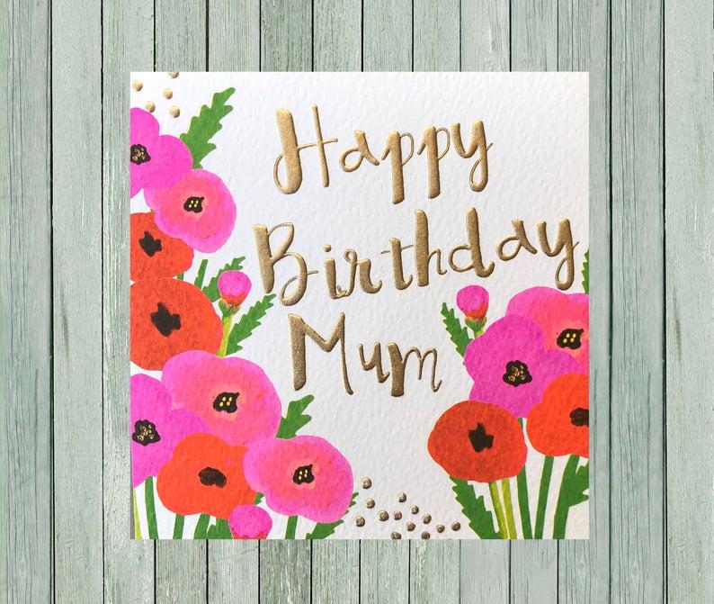 Mum Birthday card wallpaper-min