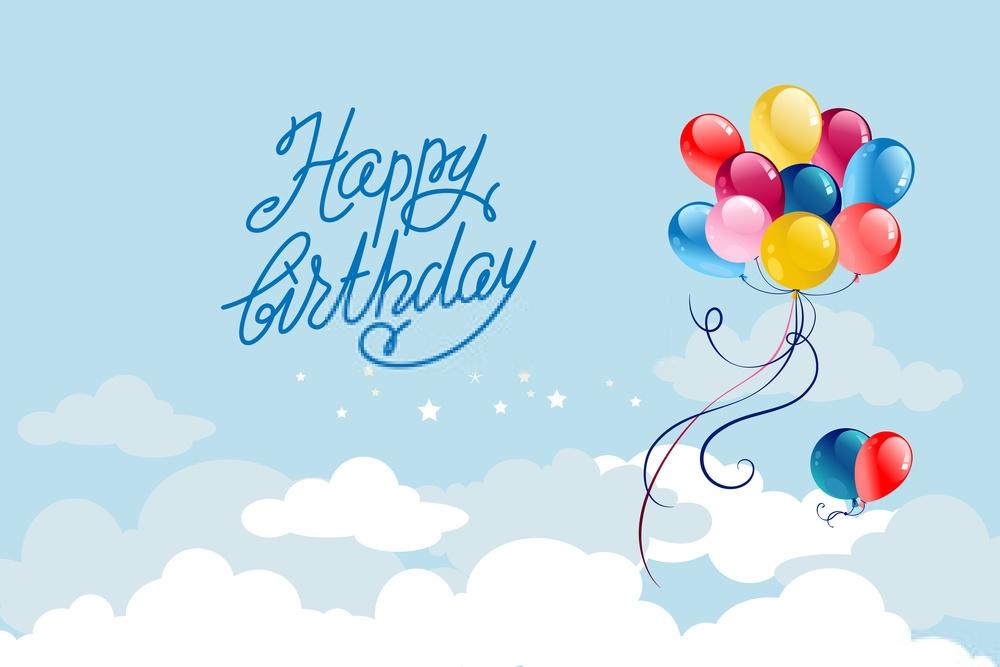 birthday baloon images