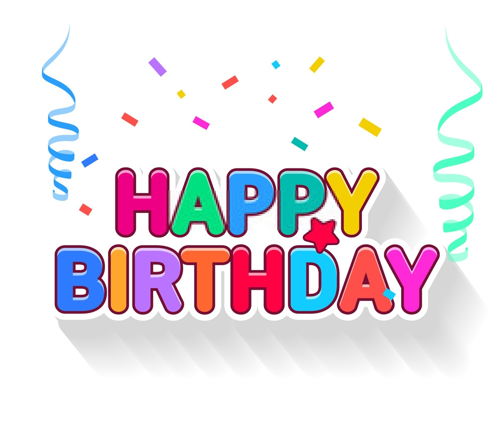 colourful happy birthday images