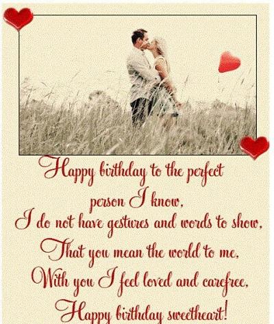 Happy Birthday Wife Poem Latest