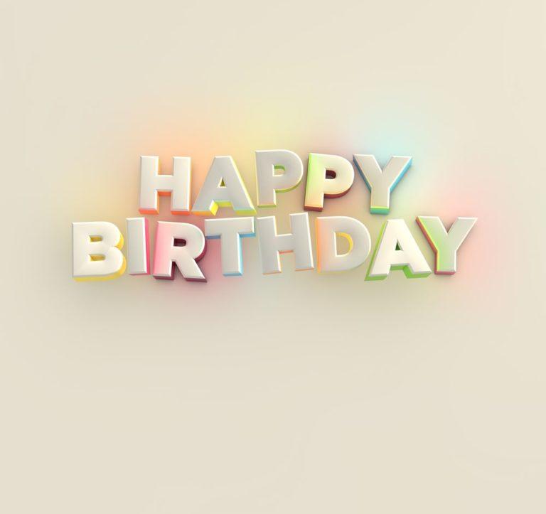 belated Happy Birthday image