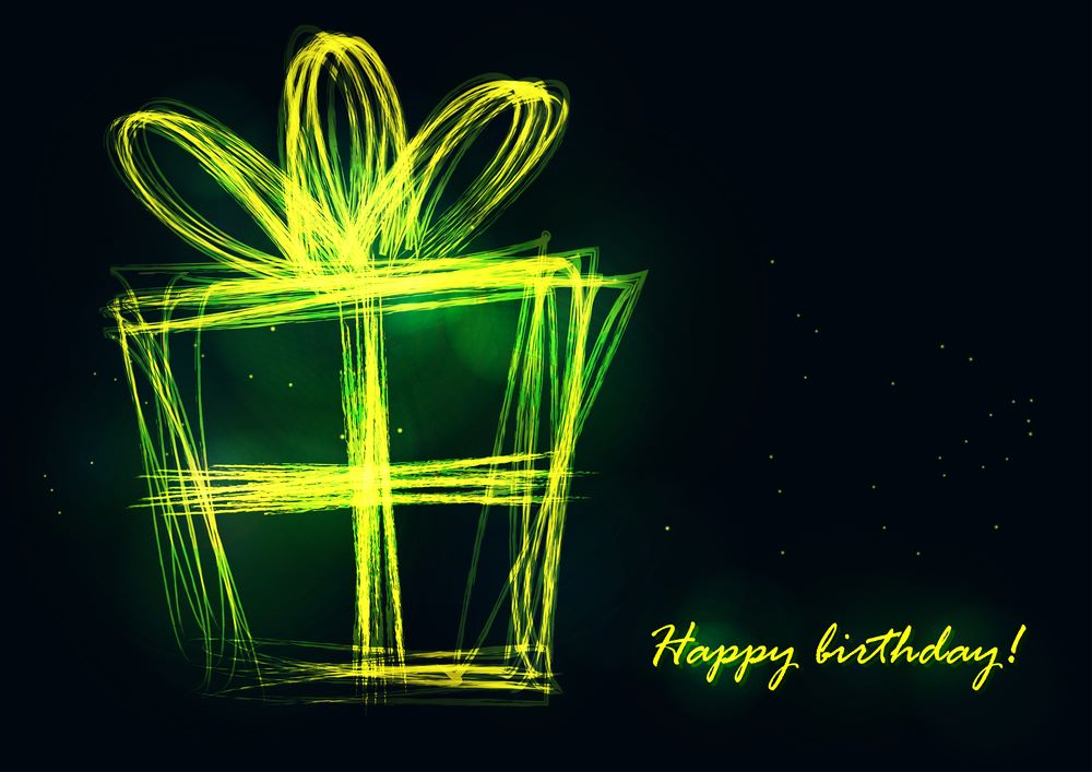 happy birthday neon wallpaper