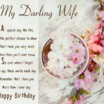 latest Happy Birthday to My Wife Poem
