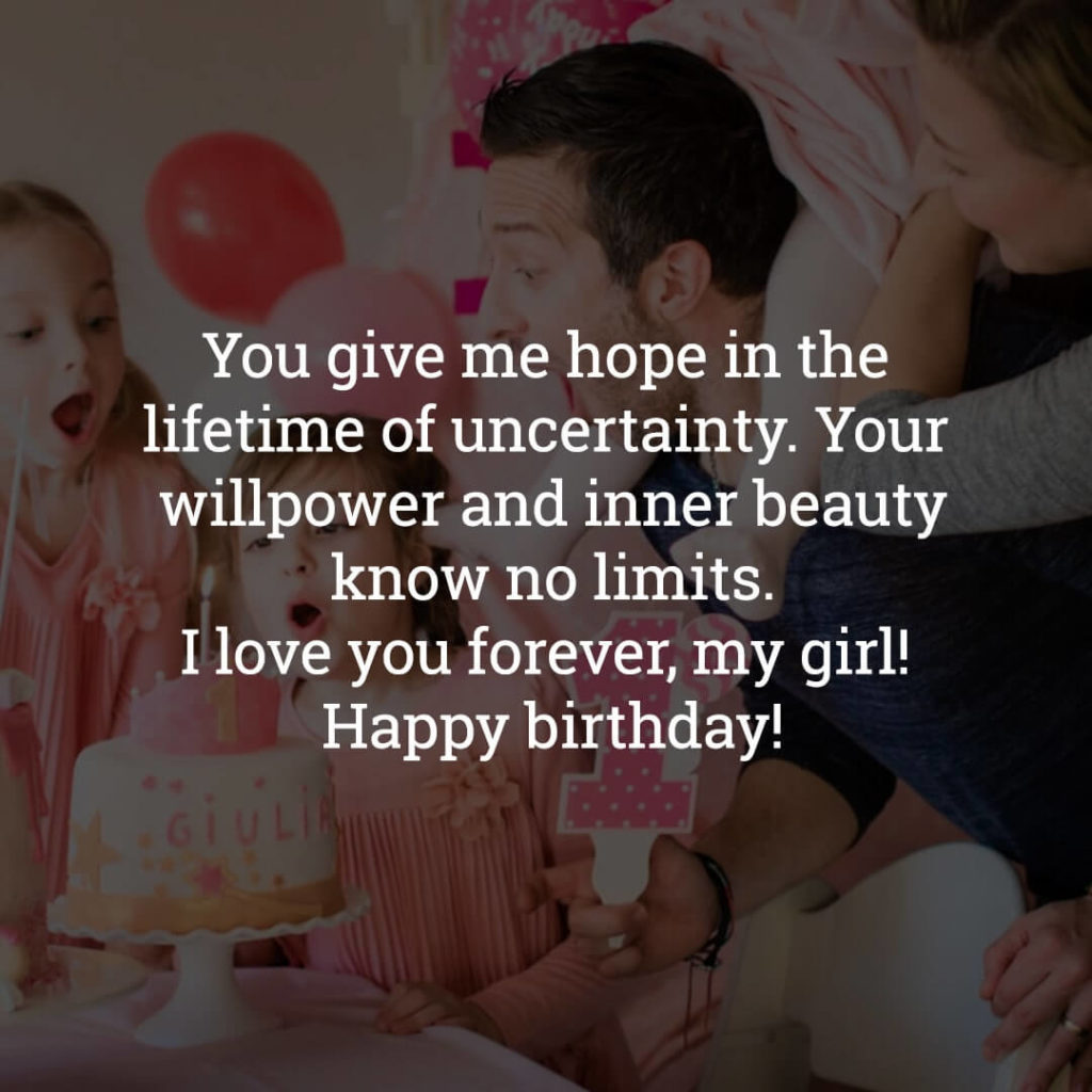 Birthday Daughter wishes