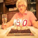 Grandmother birthday party