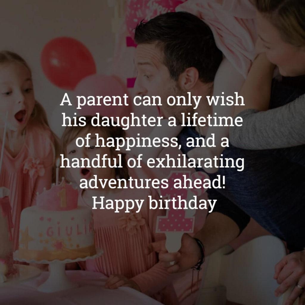 Happy Birthday Daughter wishes image