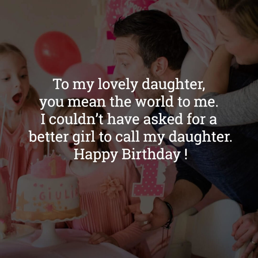 Happy Birthday Daughter wishes images
