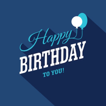 Birthday image for men