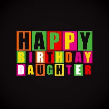 Happy birthday card daughter