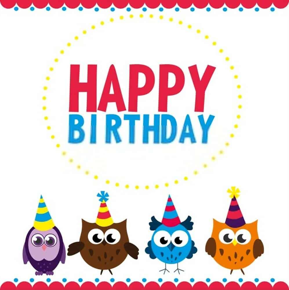 cute happy birthday Nephew card image