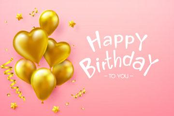 beautiful happy birthday card