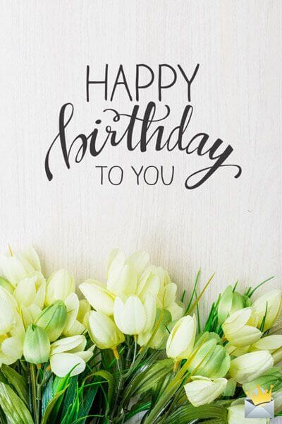 best birthday flower images