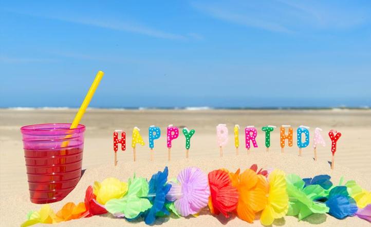 Lavish Hy Birthday Beach Quotes