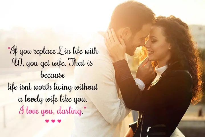 deep love messages for wife images