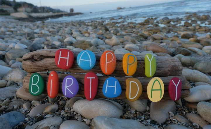 happy birthday beach wallpaper