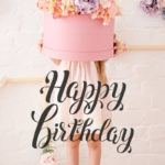 happy birthday flower image