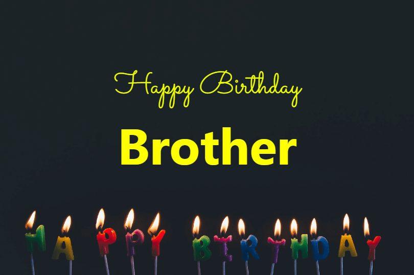 happy birthday brother photos