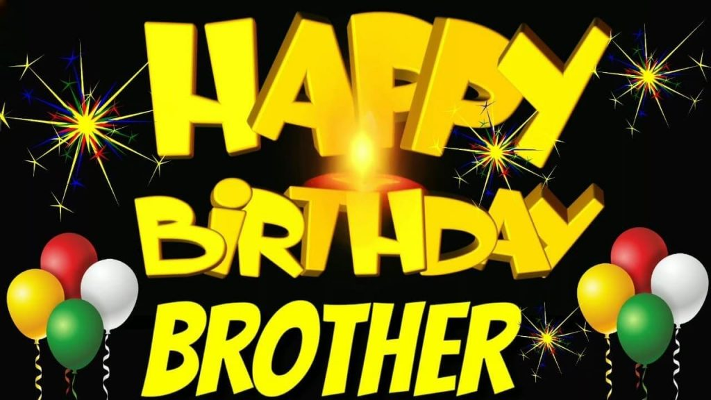 happy birthday brother wishes images
