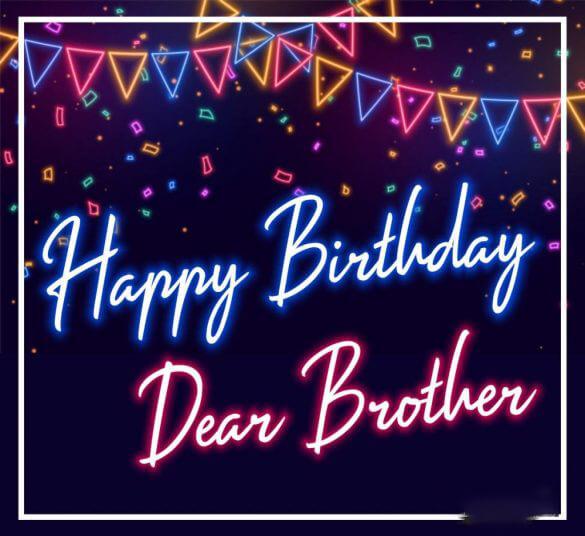 happy birthday my brother images