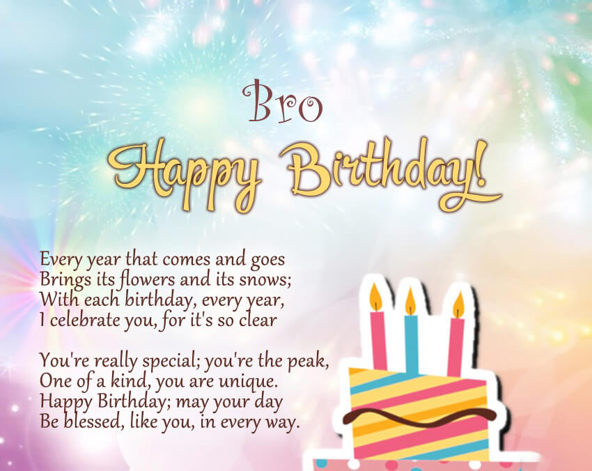 younger brother birthday images