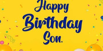 birthday wishes for son from mom