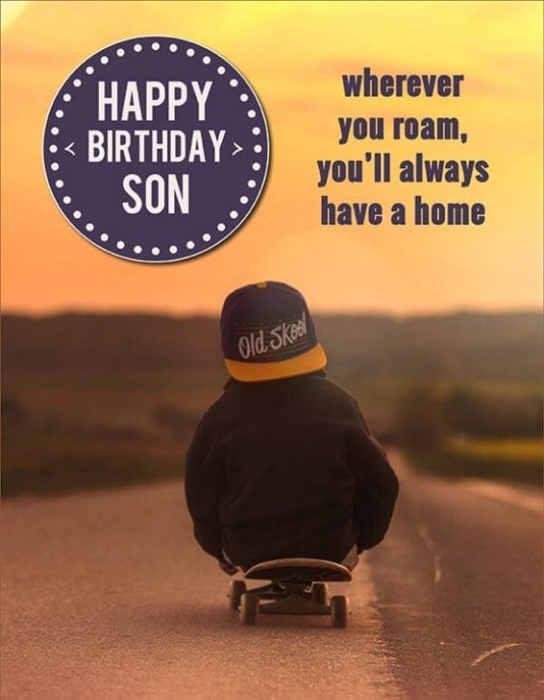 birthday wishes for son from mom quotes