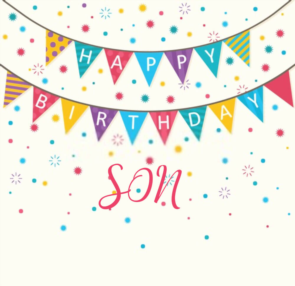 happy birthday son images from mom