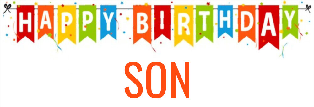 happy birthday son wishes wallpaper
